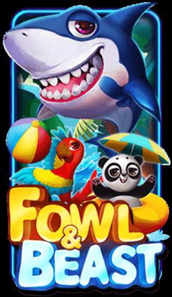 รีวิวเกมสล็อต Fowl & Beast