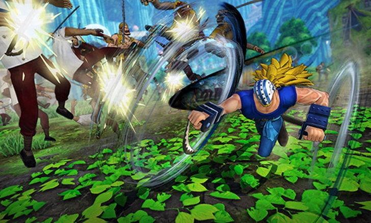รูปแบบการเล่นเกม One Piece Pirate Warriors 4